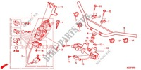 HANDLE PIPE/TOP BRIDGE (2) Frame 250 honda-motorcycle CRF 2014 F_07