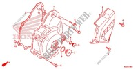 LEFT CRANKCASE COVER/ GENERATOR (2) Engine 250 honda-motorcycle CRF 2014 E_10