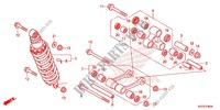 REAR CUSHION (2) Frame 250 honda-motorcycle CRF 2014 F_33