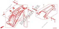 REAR FENDER Frame 250 honda-motorcycle CRF 2014 F_34
