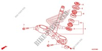 STEERING STEM/TOP BRIDGE Frame 250 honda-motorcycle CRF 2014 F_09