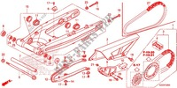 SWINGARM/CHAIN CASE Frame 250 honda-motorcycle CRF 2014 F_32