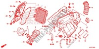 FRONT COVER/AIR CLEANER Frame 250 honda-motorcycle CRF 2014 F_25