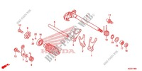 GEARSHIFT DRUM/SHIFT FORK Engine 250 honda-motorcycle CRF 2014 E_19