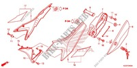 SIDE COVER/TANK COVER Frame 250 honda-motorcycle CRF 2014 F_24