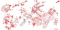 TAILLIGHT (2) Frame 250 honda-motorcycle CRF 2014 F_36