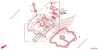 CYLINDER HEAD COVER for Honda CRF 250 M RED 2014