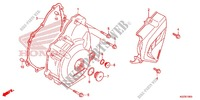 LEFT CRANKCASE COVER   ALTERNATOR (2) for Honda CRF 250 M RED 2014