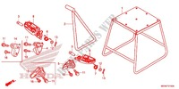 STEP/STAND Honda motorcycle microfiche diagram CRF450RE 2014 CRF 450 R