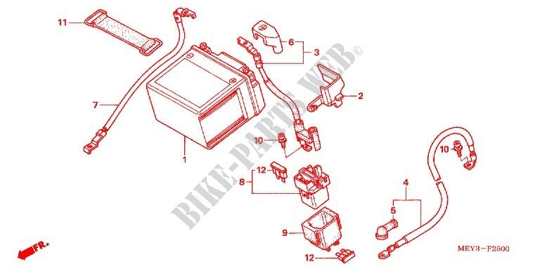 2013 Honda Crf450r Wiring Diagram