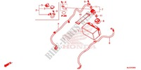WIRE HARNESS/BATTERY Honda motorcycle microfiche diagram CBR650FAE 2016 CBR 650 F ABS