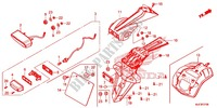 TAILLIGHT (2) for Honda CBR 650 F ABS 2014