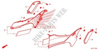 LEFT SIDE COVER for Honda NC 750 INTEGRA 2TH 2014