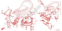 SINGLE SEAT (2) for Honda NC 750 INTEGRA 2TH 2014