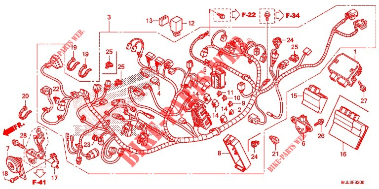 honda nc750x wiring diagram gallery