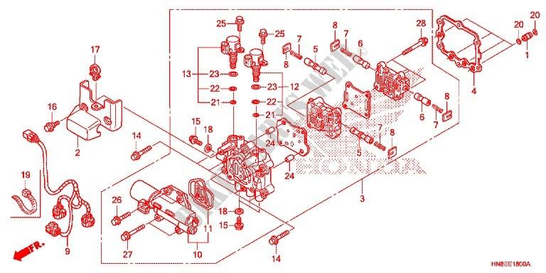 30 Honda Rincon Parts Diagram
