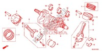 CRANKSHAFT/PISTON Engine 1200 honda-motorcycle CROSSTOURER 2013 E_16