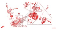 --- CORPS DE PAPILLON/INJECTEUR DE CARBURANT Honda motorcycle microfiche diagram WW125EX2F 2015 PCX 125 LIMITED EDITION