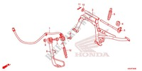 MAIN STAND/ BRAKE PEDAL Honda motorcycle microfiche diagram WW125EX2F 2015 PCX 125 LIMITED EDITION