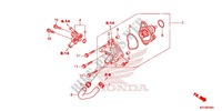 WATER PUMP Honda motorcycle microfiche diagram WW150D 2013 PCX 150