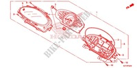 HEADLIGHT/SPEEDOMETER (2) Honda motorcycle microfiche diagram WW150D 2013 PCX 150