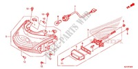 TAILLIGHT (2) Honda motorcycle microfiche diagram WW150D 2013 PCX 150