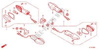 INDICATOR (2) for Honda CBR 125 2011