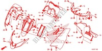 --- GAINE DE PROTECTION AVANT/TABLEAU DES COMPTEURS Frame 125 honda-motorcycle FORZA 2015 F_12