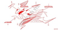 STICKERS for Honda CB 650 F ABS 2015