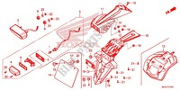 TAILLIGHT (2) for Honda CB 650 F ABS 2015