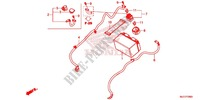 WIRE HARNESS/BATTERY for Honda CB 650 F 2014