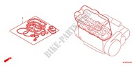 GASKET KIT A Honda motorcycle microfiche diagram CB1300SAA 2010 CB 1300 abs, fairing