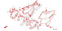 AIR CLEANER/SIDE COVER Honda motorcycle microfiche diagram CB1300SAA 2010 CB 1300 ABS FAIRING