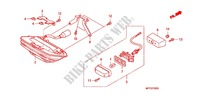 TAILLIGHT (2) Honda motorcycle microfiche diagram CB1300SAA 2010 CB 1300 abs, fairing