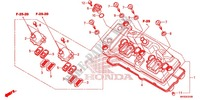 CYLINDER HEAD COVER Honda motorcycle microfiche diagram CBR1000RAF 2015 CBR 1000 RR ABS TRICOLORE