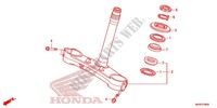 STEERING STEM/TOP BRIDGE Honda motorcycle microfiche diagram CBR1000RAF 2015 CBR 1000 RR ABS TRICOLORE