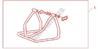 REAR MAINTENANCE STAND VT600C for Honda CBR 600 F 2001
