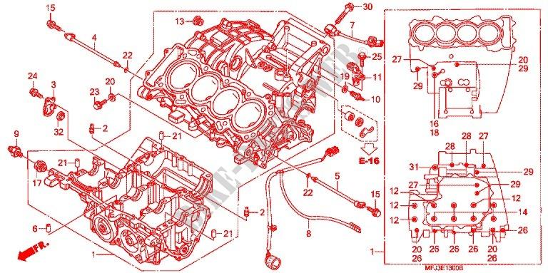 Cbr600rr Engine Diagram Wiring Diagram Fascinating