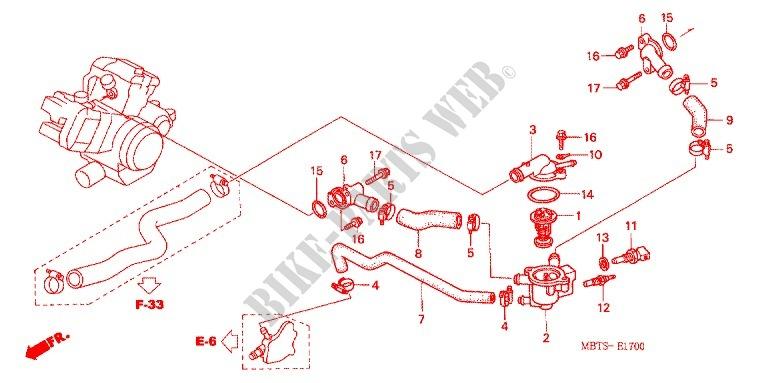 /≥ 2007 comodidad Asiento banco Honda Varadero XL 1000/V Top Apio/ /web2343