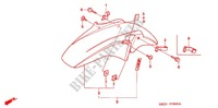 FRONT FORK   FRONT FENDER for Honda CB 1300 ABS 2005