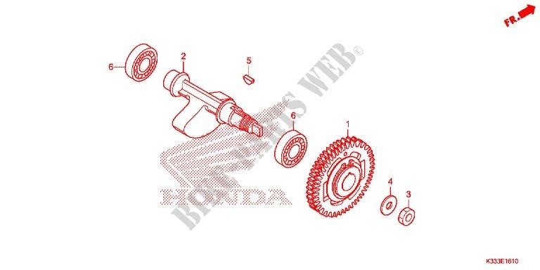 cbr 250 engine diagram balancer shaft engine cbr300rag 2016 cbr 300 moto honda ... cbr motorcycle engine shaft diagram #6