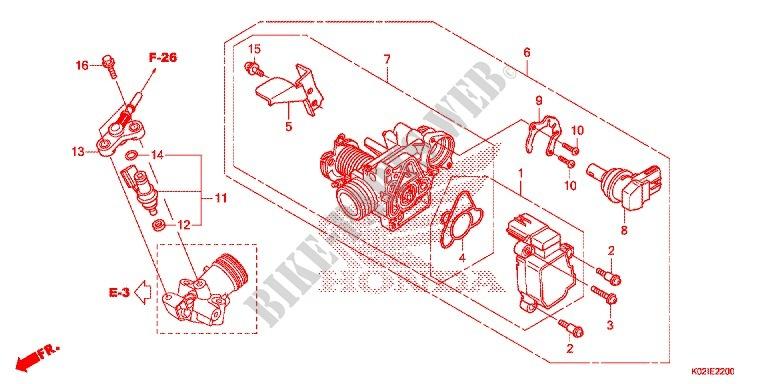 corps de papillon injecteur de carburant sh 150 ds sh150dsg 2016 united kingdom sh150dsg. Black Bedroom Furniture Sets. Home Design Ideas