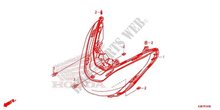 Headlight Speedometer  2  For Honda Pcx 150 2015   Honda