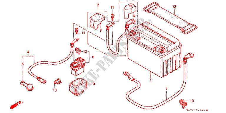 1997 Cbr 900 Wiring Diagram - Somurich.com Honda Rr Motorcycle Wiring Diagrams on