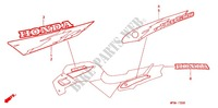 STICKERS (1) for Honda CB 500 1996