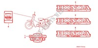 STICKERS (C50S 1) (B1/D1/S1) for Honda SUPER CUB 50 DELUXE 2000