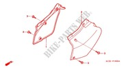 AIR CLEANER/SIDE COVER Frame 250 honda-motorcycle XR 2000 F_16