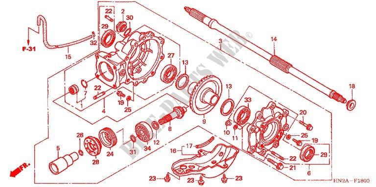 Honda Rubicon Parts Diagram