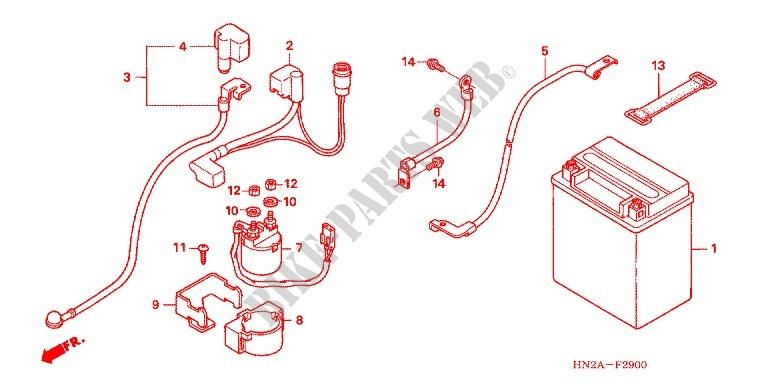 2006 Honda Foreman Wiring Diagram
