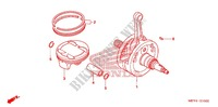 CRANKSHAFT for Honda CRF 450 X 2005